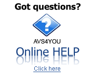 AVS4YOU Online Help. Find answers to your questions. Click here to read.