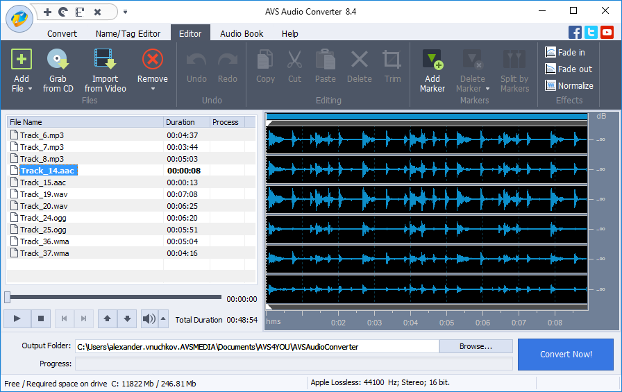 Wav mp3 wma m4a audio recorder 3.0.97