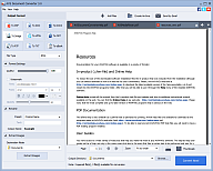 AVS Document Converter. Click to see the full-size image.