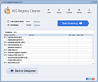 AVS Registry Cleaner. Click to see the full-size image.