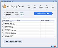 AVS Registry Cleaner. Cliquez ici pour agrandir l'image.