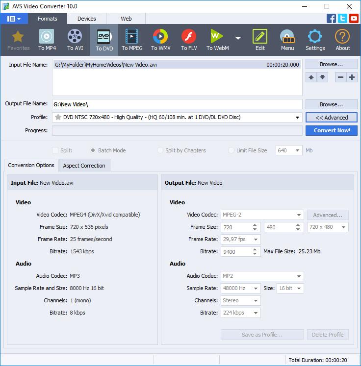 free video to audio converter key